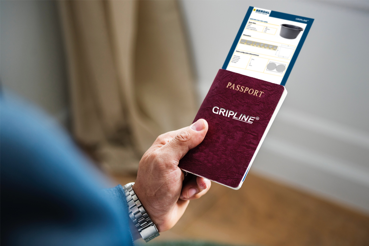 New! Gripline product passports