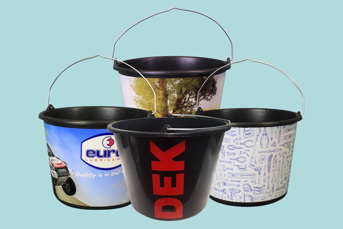 The best labelling for your buckets with IML from Berdal